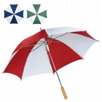 "48"" Striped Automatic Windproof Umbrella"
